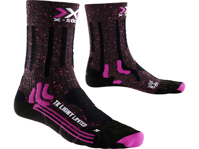 X-Socks W's Trekking Light Limited Socks Pink/Black
